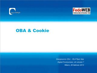 OBA & Cookie