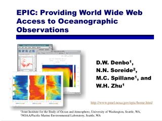 EPIC: Providing World Wide Web Access to Oceanographic Observations