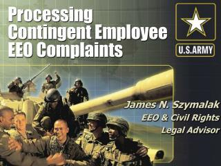 Processing Contingent Employee EEO Complaints