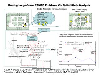 Solving Large-Scale POMDP Problems Via Belief State Analysis