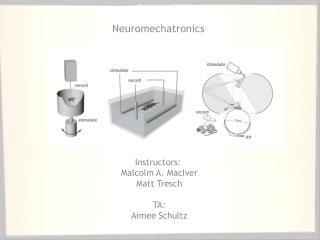 Neuromechatronics