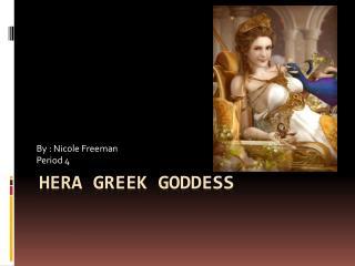 Hera Greek Goddess