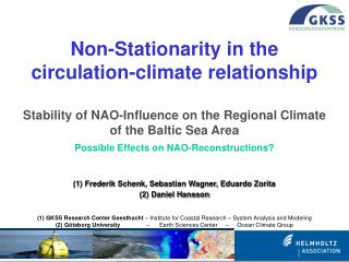 Non-Stationarity in the circulation-climate relationship