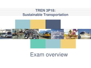 TREN 3P18:  Sustainable Transportation