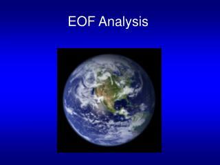 EOF Analysis