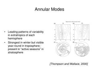 Annular Modes
