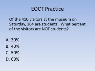 EOCT Practice