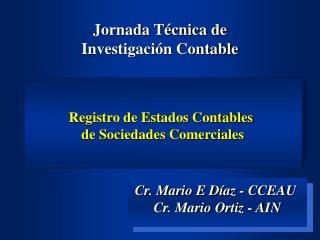 Jornada T�cnica de  Investigaci�n Contable