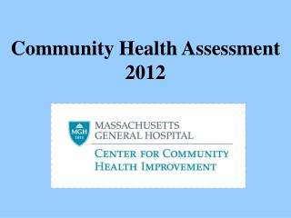 Community Health Assessment 2012