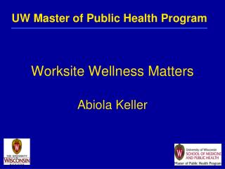 Worksite Wellness Matters