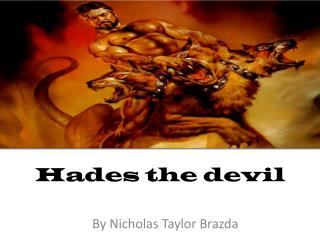 Hades the devil