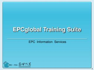 EPCglobal Training Suite