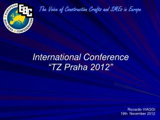"International Conference  ""TZ Praha 2012"""