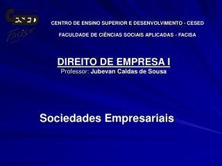 Sociedades Empresariais