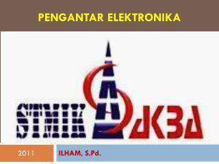 Pengantar Elektronika
