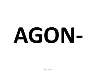 AGON-