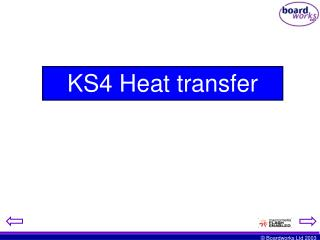 KS4 Heat transfer