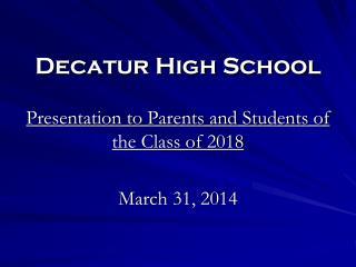 Decatur High School