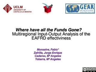 Where have all the Funds Gone?  Multiregional Input-Output Analysis of the  EAFRD  effectiviness