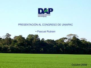 PRESENTACI �N AL CONGRESO DE UNIAPAC