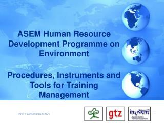 ASEM Human Resource Development Programme on Environment