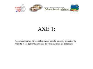 AXE 1: