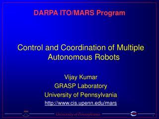 DARPA ITO/MARS Program