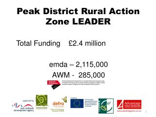 Peak District Rural Action Zone LEADER
