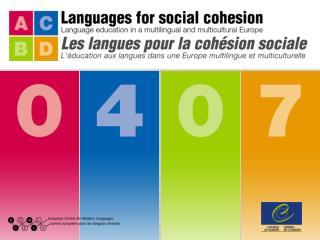 Former les enseignants  à l'utilisation du  Portfolio européen des langues