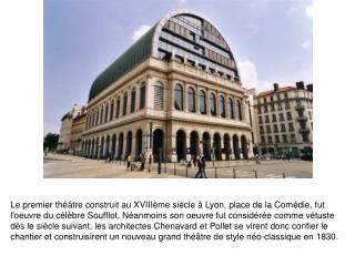 Opera de Lyon Architecture
