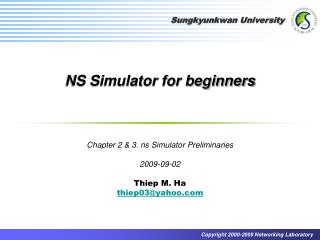 NS Simulator for beginners