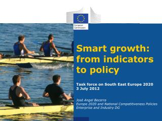 Smart growth: from indicators to policy