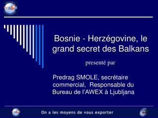 Bosnie - Herzégovine, le grand secret des Balkans