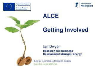 ALCE Getting Involved