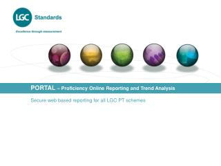 PORTAL  � Proficiency Online Reporting and Trend Analysis