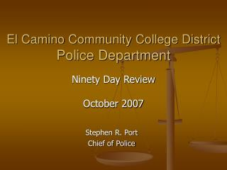 El Camino Community College District Police Department