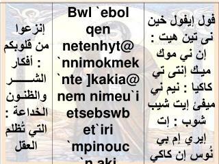 zogsologeat el kedes anba antonios 2ab el rohban