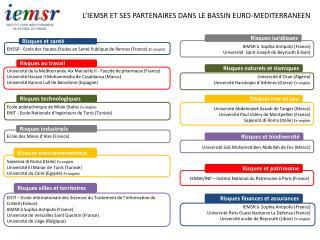 EHESP - Ecole des Hautes Etudes en Santé Publique de Rennes (France)  En anglais
