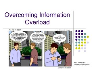 Overcoming Information Overload