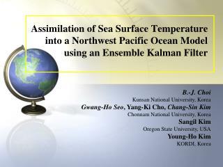 1. Northwest Pacific Ocean Model with ROMS 2. Ensemble Kalman Filter