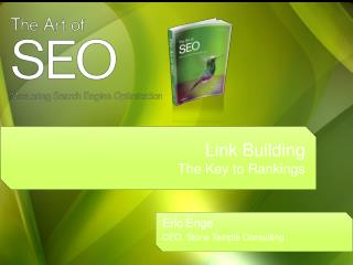 Link Building The Key to Rankings