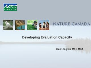Developing Evaluation Capacity