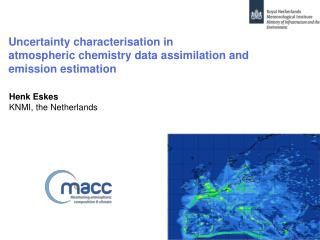 Uncertainty characterisation in  atmospheric chemistry data assimilation and  emission estimation