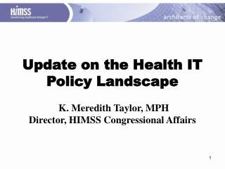 President-Elect Barack Obama Healthcare Platform