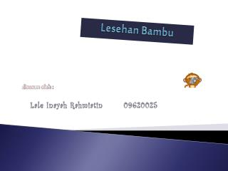 Lesehan Bambu