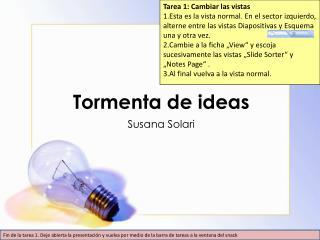Tormenta de ideas