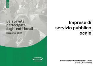 Imprese di  servizio pubblico  locale