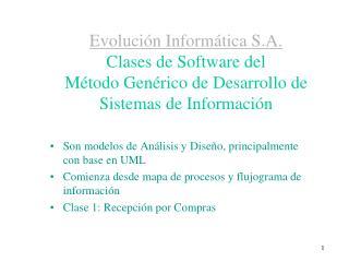 Son modelos de Análisis y Diseño, principalmente con base en UML