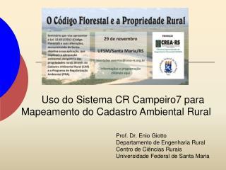 Prof. Dr.  Enio Giotto