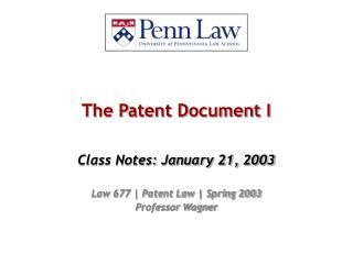 The Patent Document I